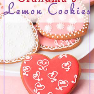 Grandma's Lemon Sugar Cookies