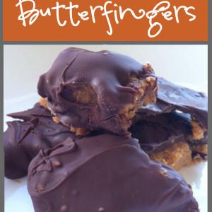 Homemade Butterfingers