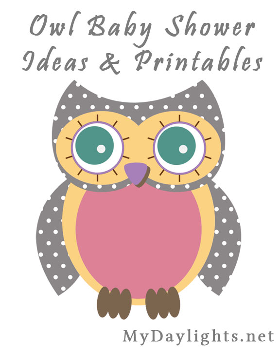 Baby Shower Decorations At Family Dollar ~ Baby girl owl shower printables your everyday family