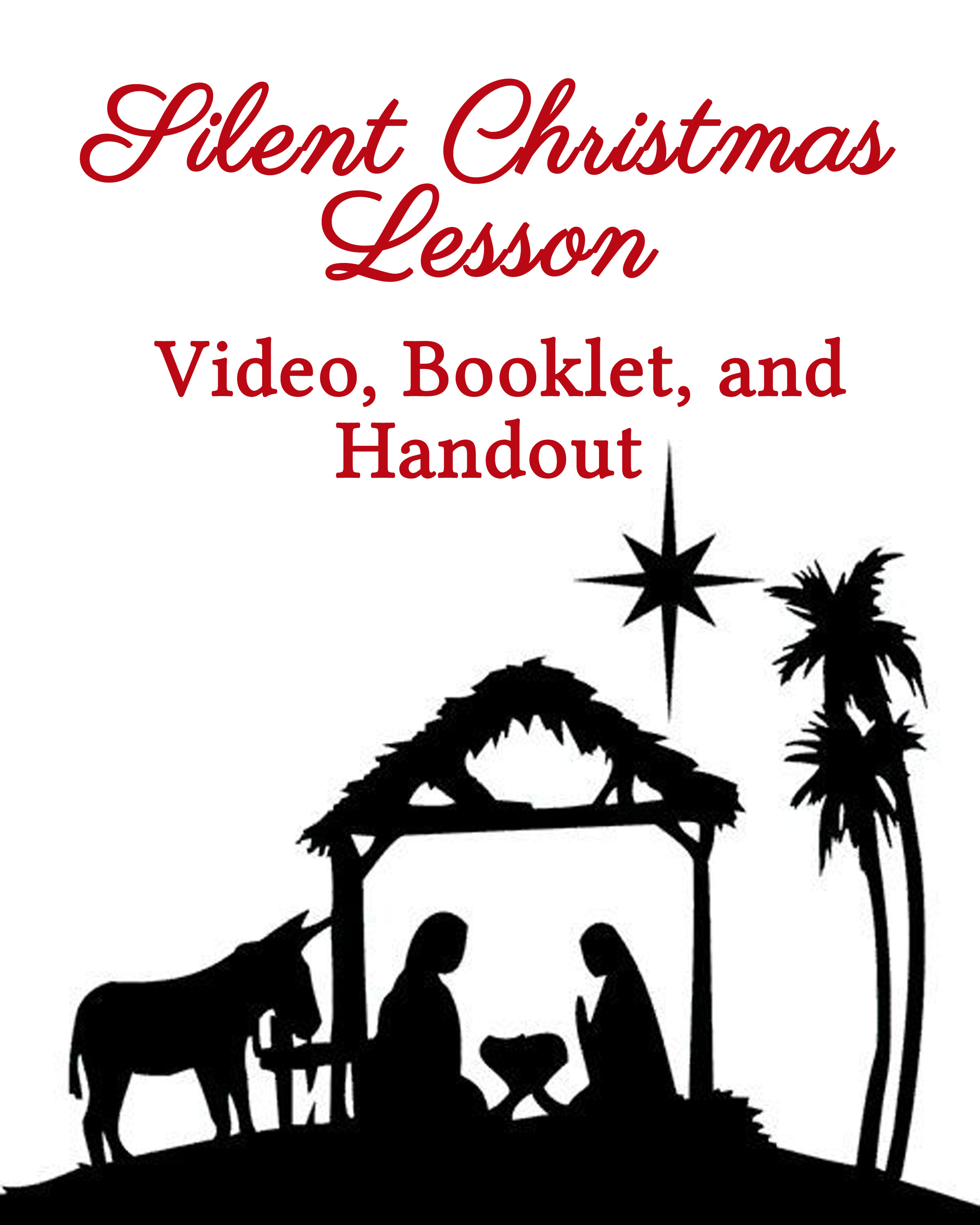 109 Best Christmas Lds Images On Pinterest: Silent Christmas Lesson For Youth & Families
