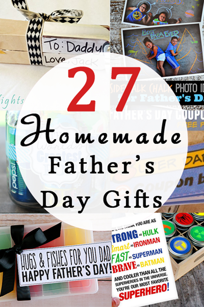 27 Homemade Father 39 S Day Gifts Your Everyday Family