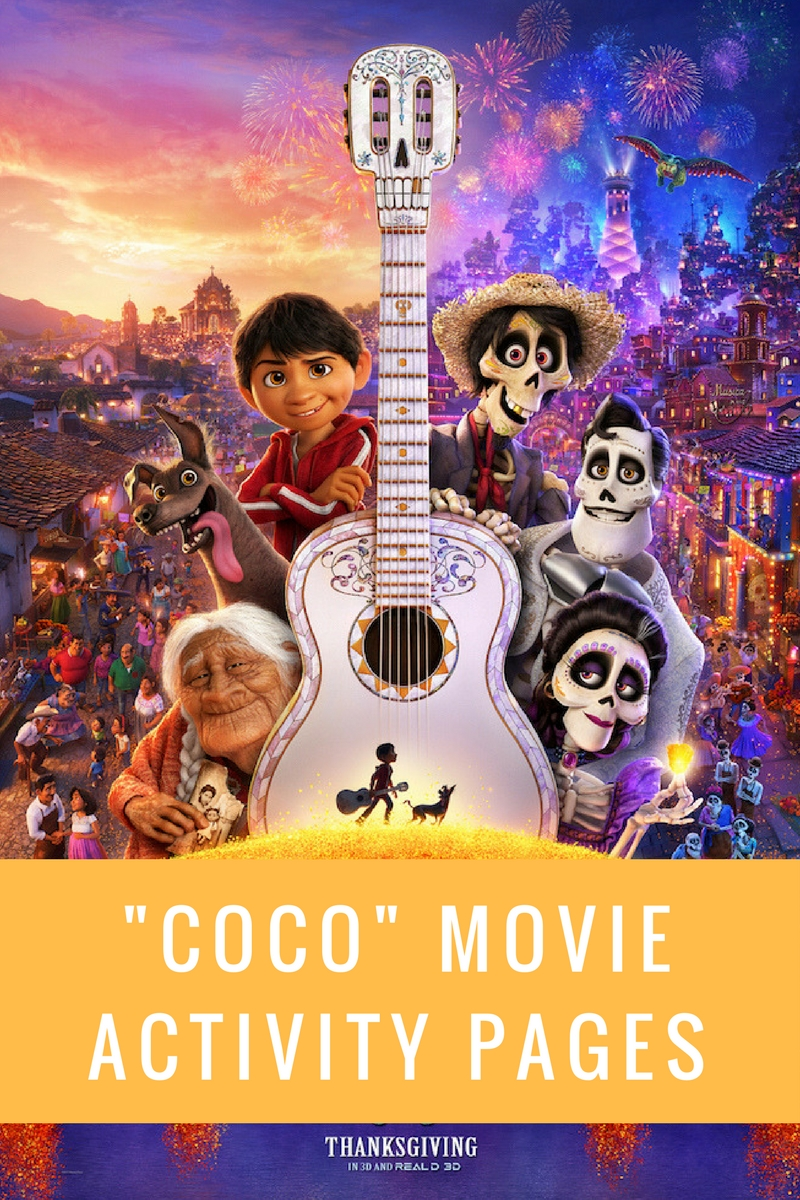 Disney Pixar Coco Movie Coloring Pages Your Everyday Family