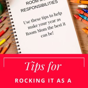 Tips for Room Moms