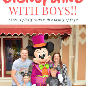 A Mom's Guide to Doing Disneyland With Boys