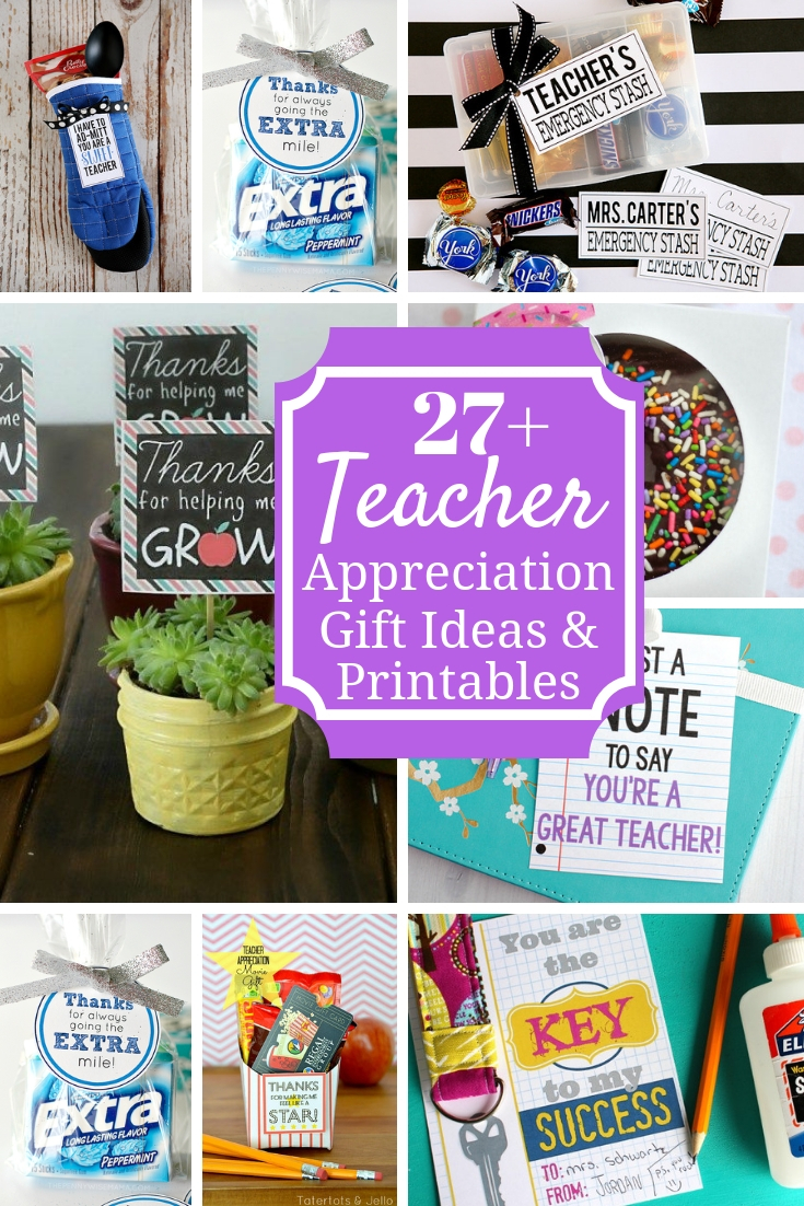 Meaningful Teacher Appreciation Ideas & Printables